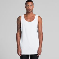AS COLOUR Mens Typo Singlets Thumbnail