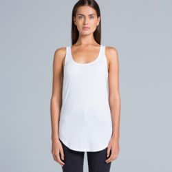 AS COLOUR Womens Dash Racer Back Singlet Thumbnail