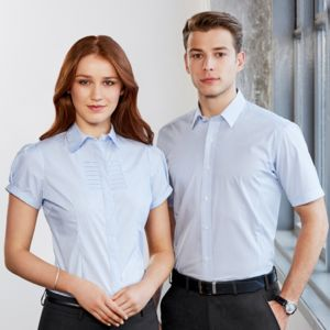 Biz Collection Women Berlin Short Sleeve Shirt Thumbnail