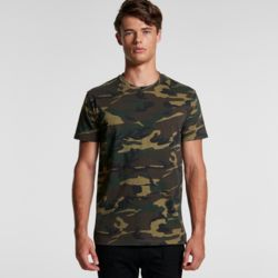 AS COLOUR Mens Staple Camo Tee Thumbnail