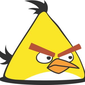 Yellow Angry Bird Thumbnail
