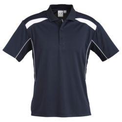 BIZ COLLECTION Mens United Short Sleeve Polo Thumbnail